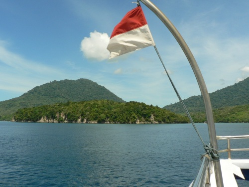 weh island view from speed boat