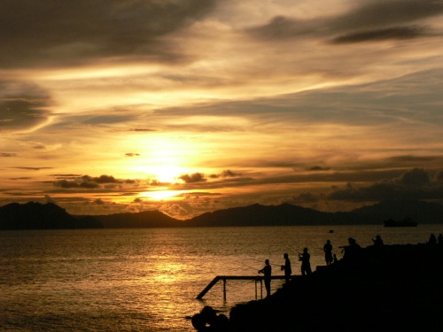 Sunset at Ulee Lheue, Banda Aceh Indonesia