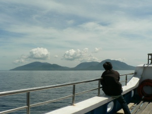 Speed boat toward Pulau Weh, Aceh Indonesia