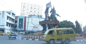 Binjai city center, North Sumatra