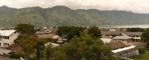 Takengon, a Lake front city in Aceh Indonesia